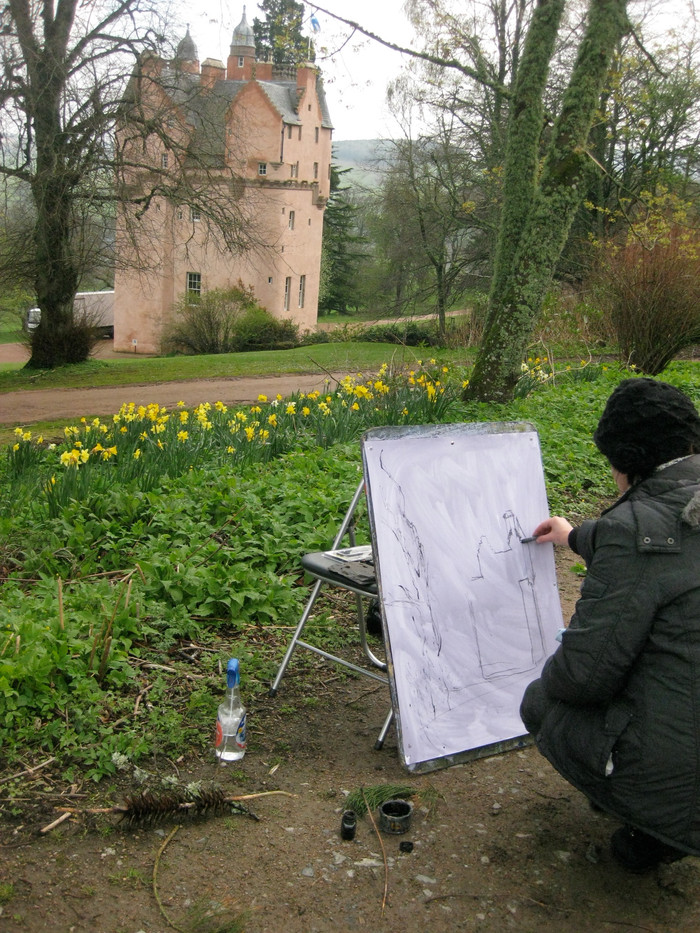 Drawing in situ
