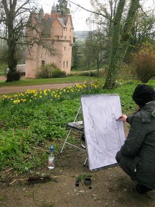 Drawing in situ