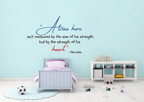 Disney Hercules Quote