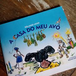 A casa do meu avô. Livro de Solange Adão. Ilustração da capa de Bruno Barbi.