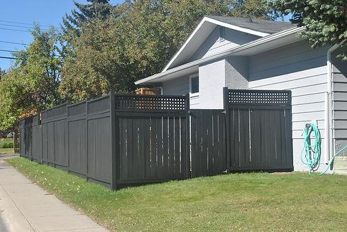 Fence stain algary