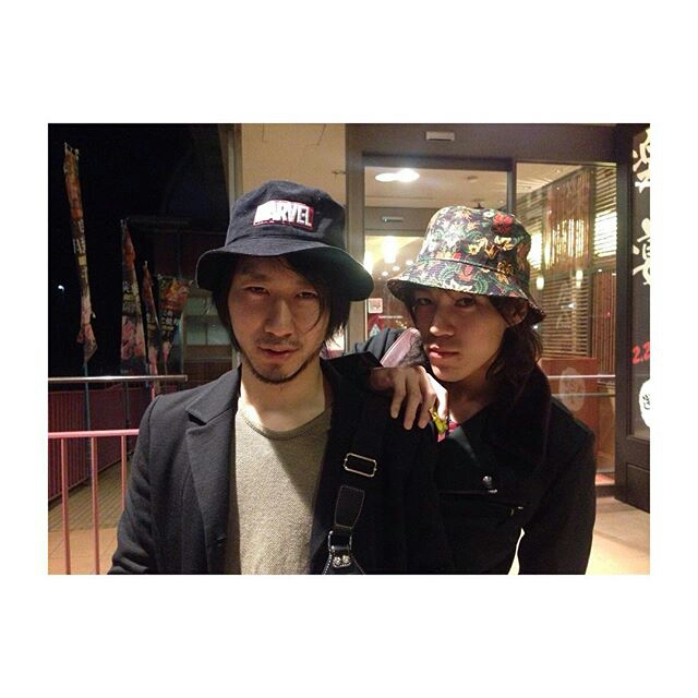 with Koji Shibano