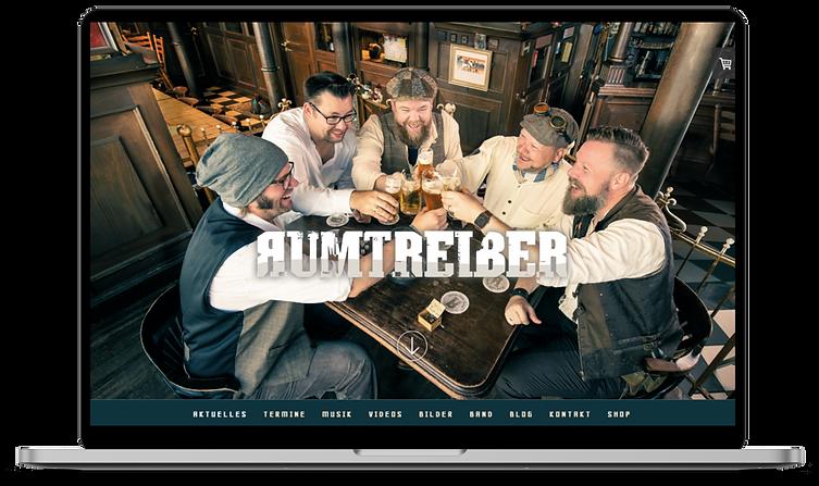 RUMTREIBER – Website