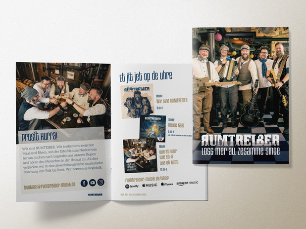 Rumtreiber – Booklet