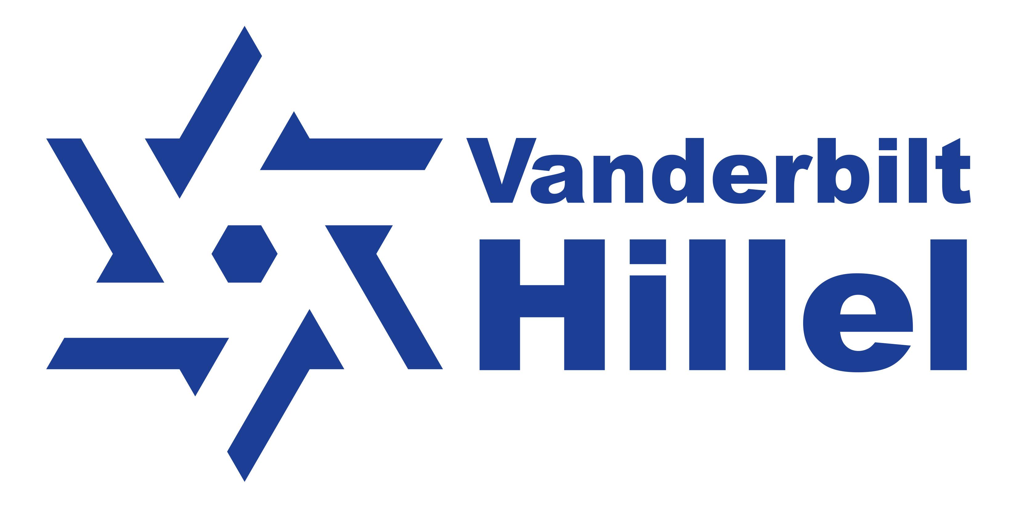 Vanderbilt Hillel wordmark proposal