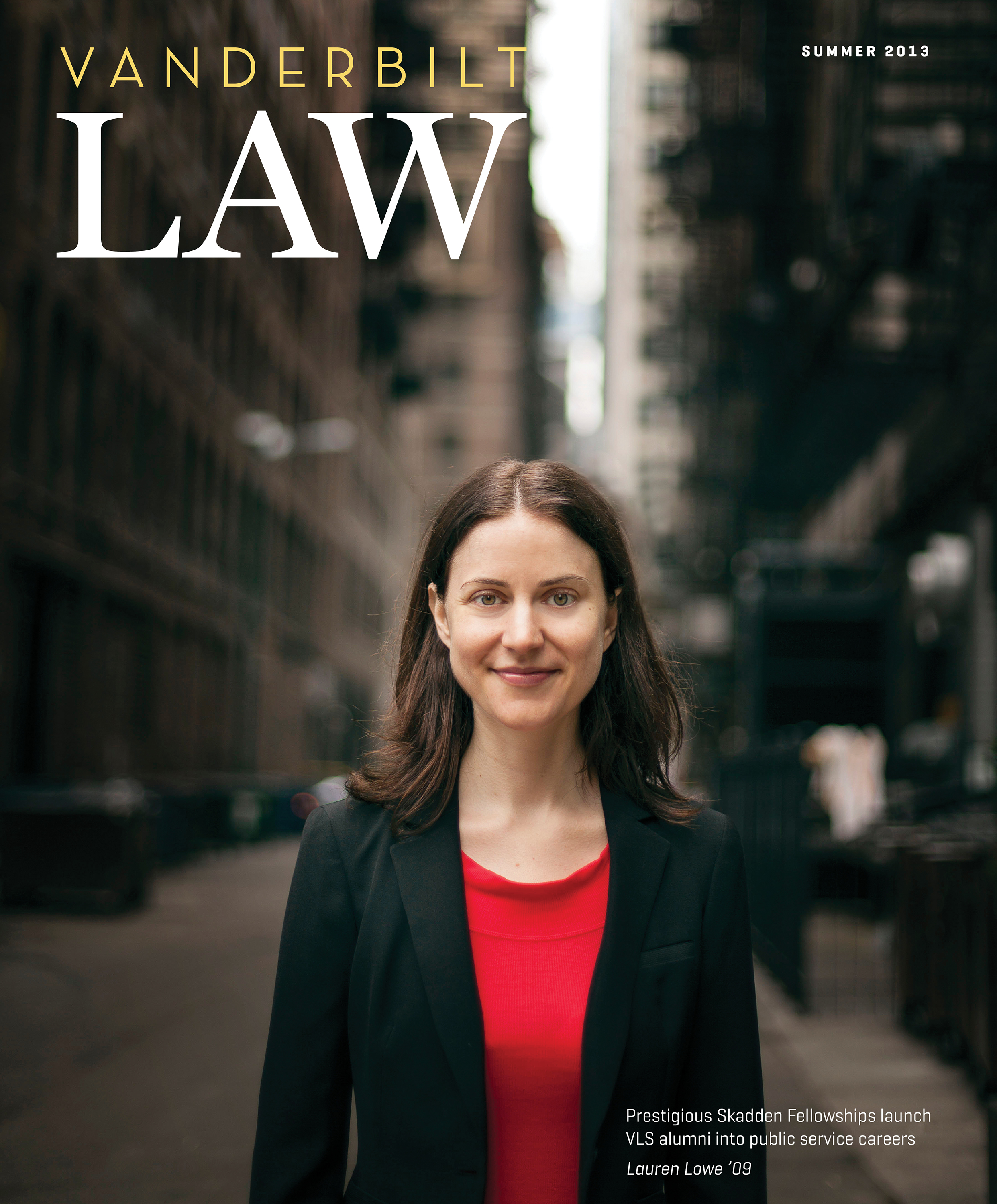 Vanderbilt Law Magazine Redesign
