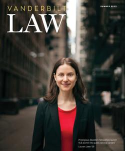 Vanderbilt Law Magazine Redesign