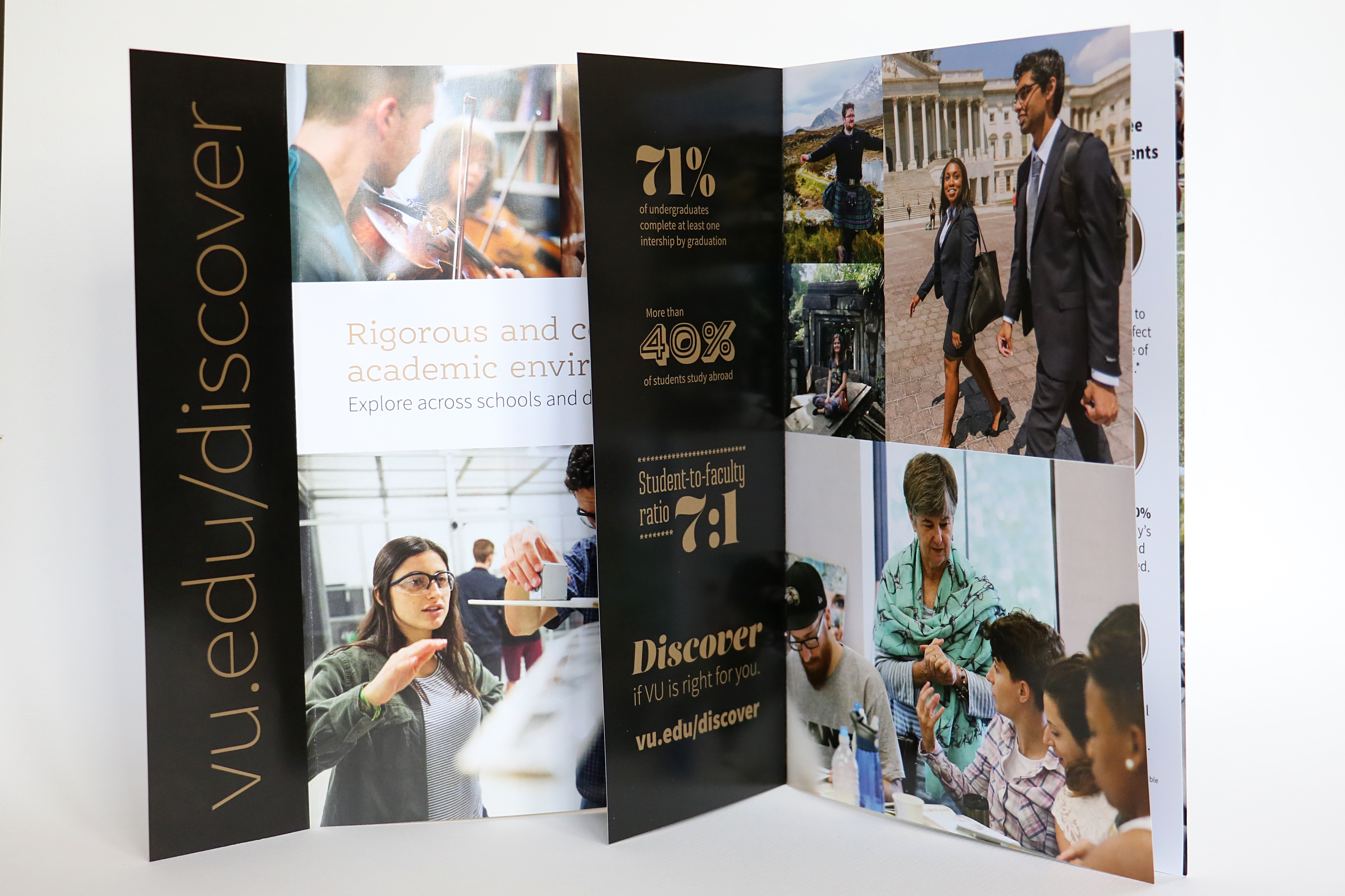 Admissions Discover brochure