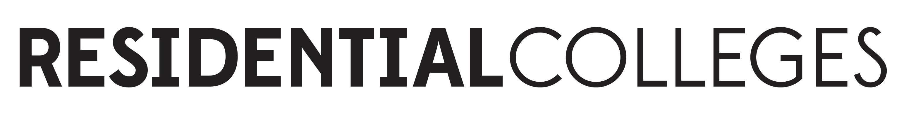 Residential Colleges wordmark