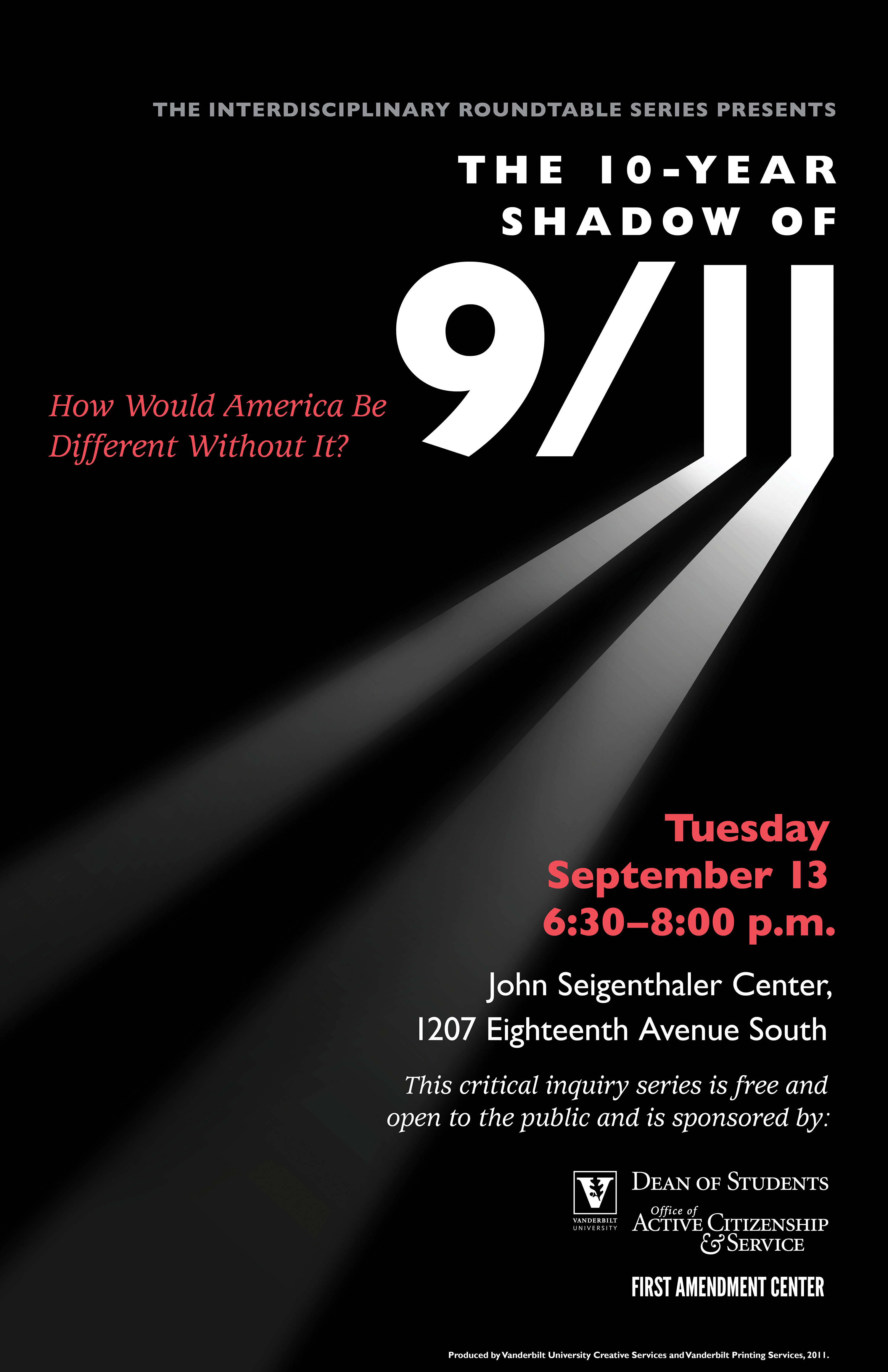 9-11 Roundtable poster