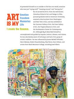 Allen B. Carter exhibit brochure