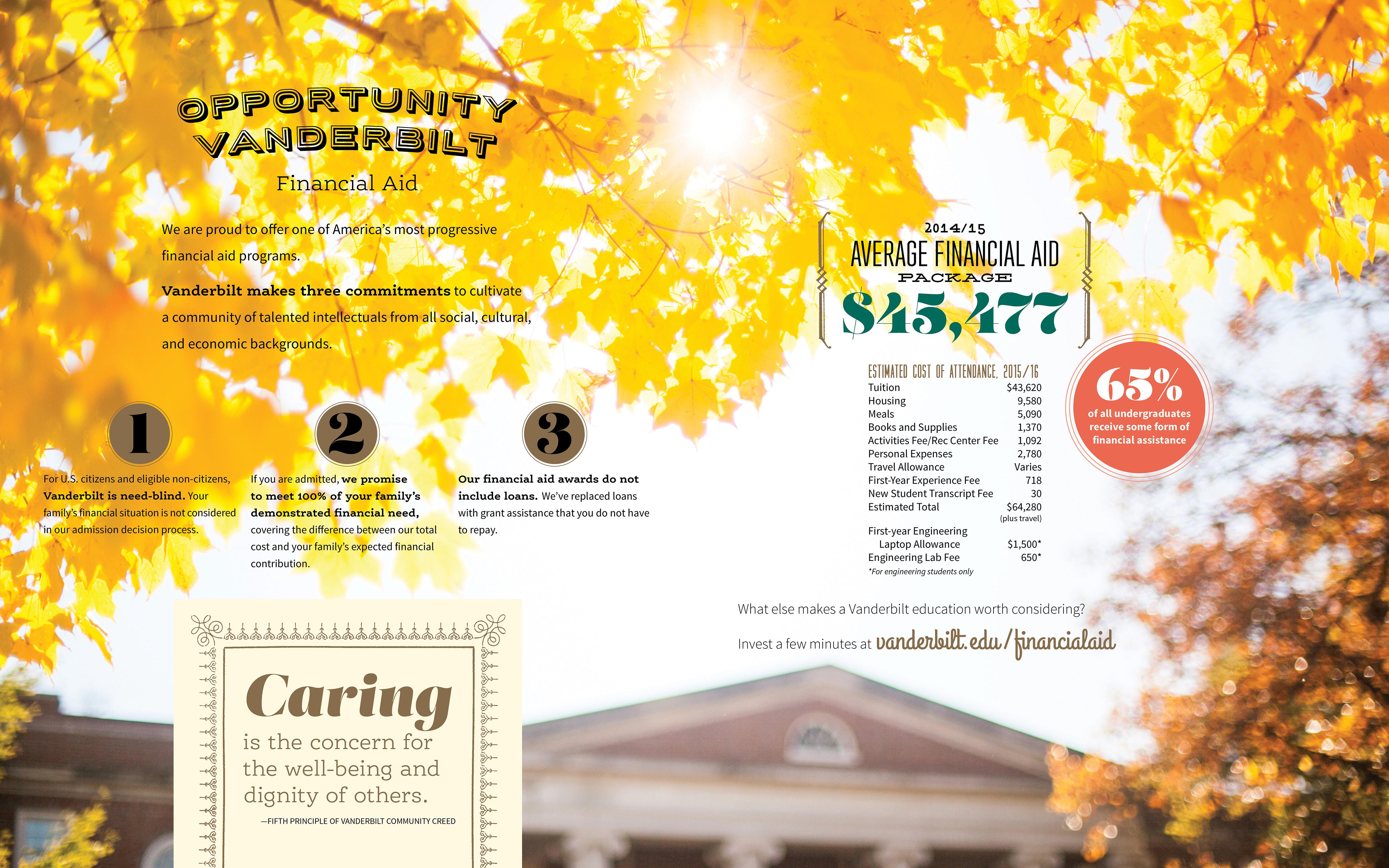 Vanderbilt Admissions Viewbook