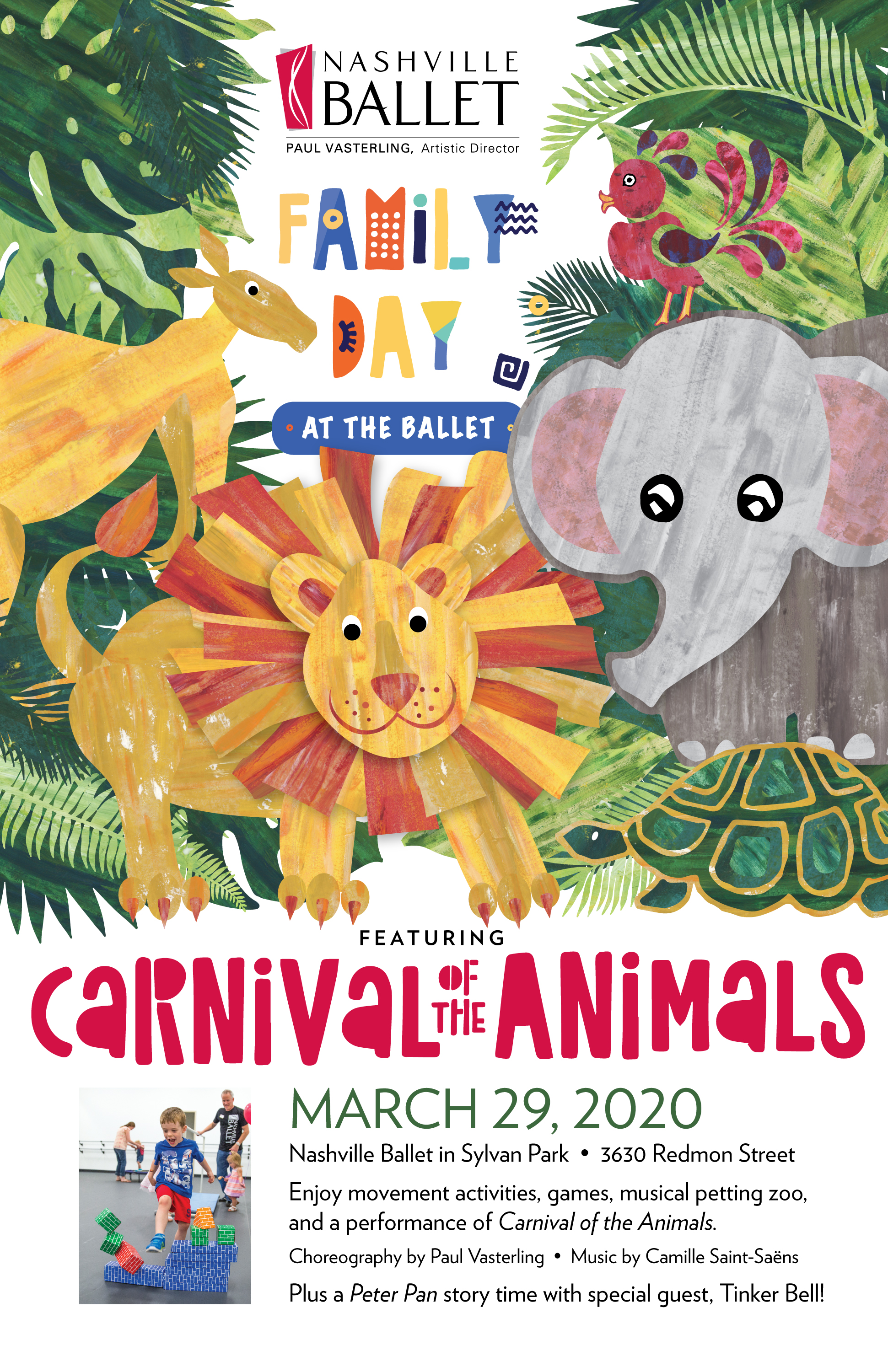 Carnival of Animals poster