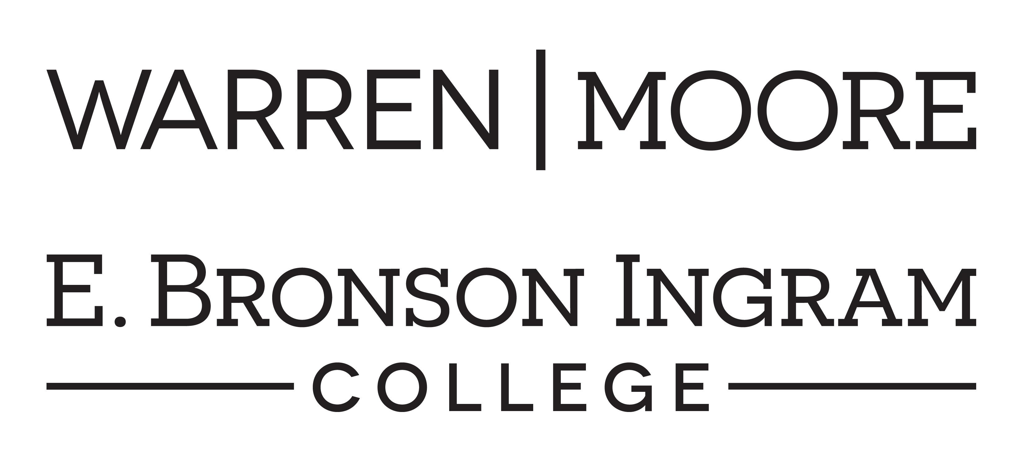 Warren Moore and Bronson Ingram