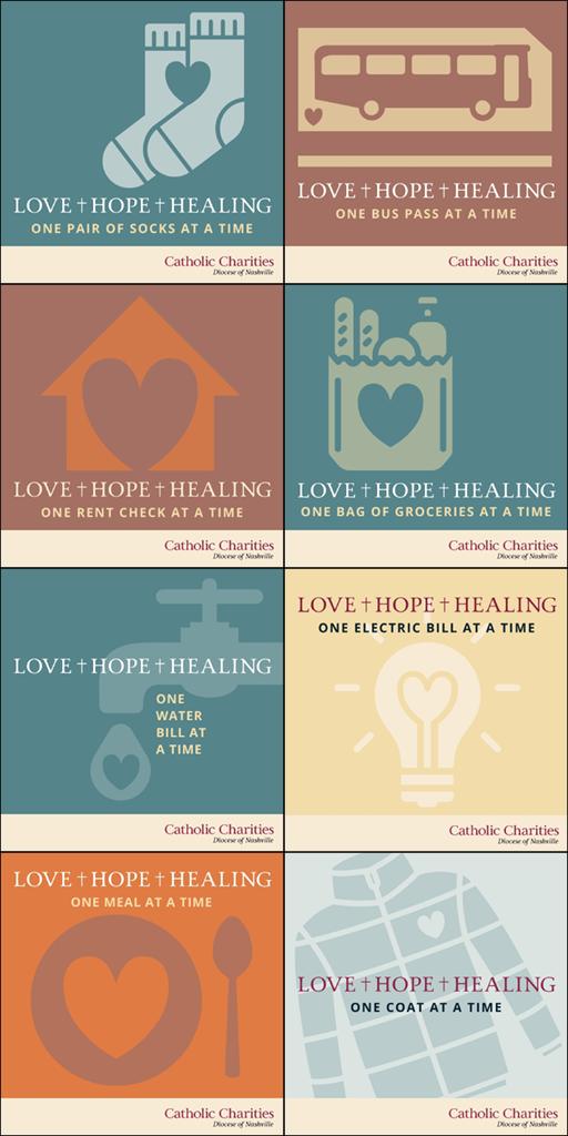 Catholic Charities Social Media Campaign