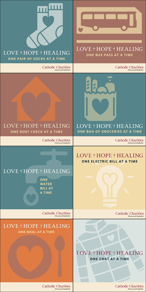 Catholic Charities Social Media Campaign