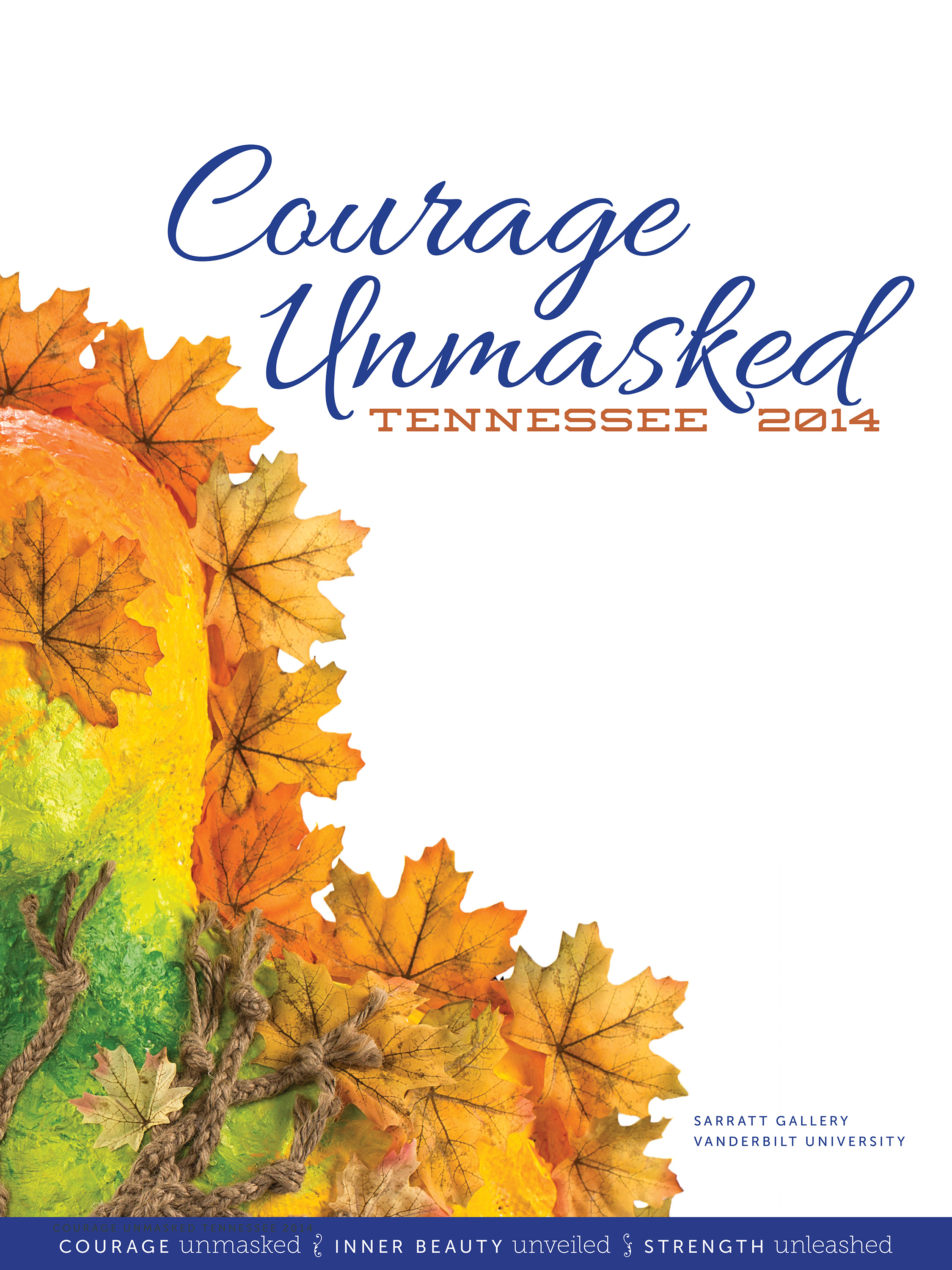Courage Unmasked catalog
