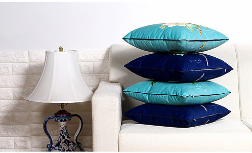 High-grade Ultra-short Cotton Double-sided printed Cushion