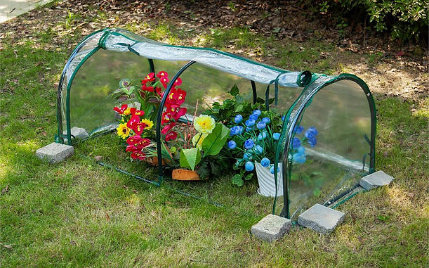 Arched Freeze Insulation Cover Plant Greenhouses