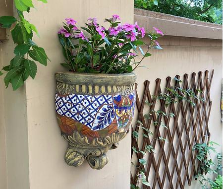Courtyard Wall Hanging Flower Pot