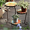 Thumbnail: American Country Home Three-layer Foldable Flower Stand