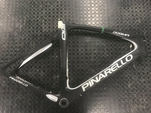 Pinarello F10 | Seat stay Damage Repair
