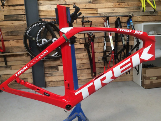 Trek Madone P1 | Cosmetic Repair