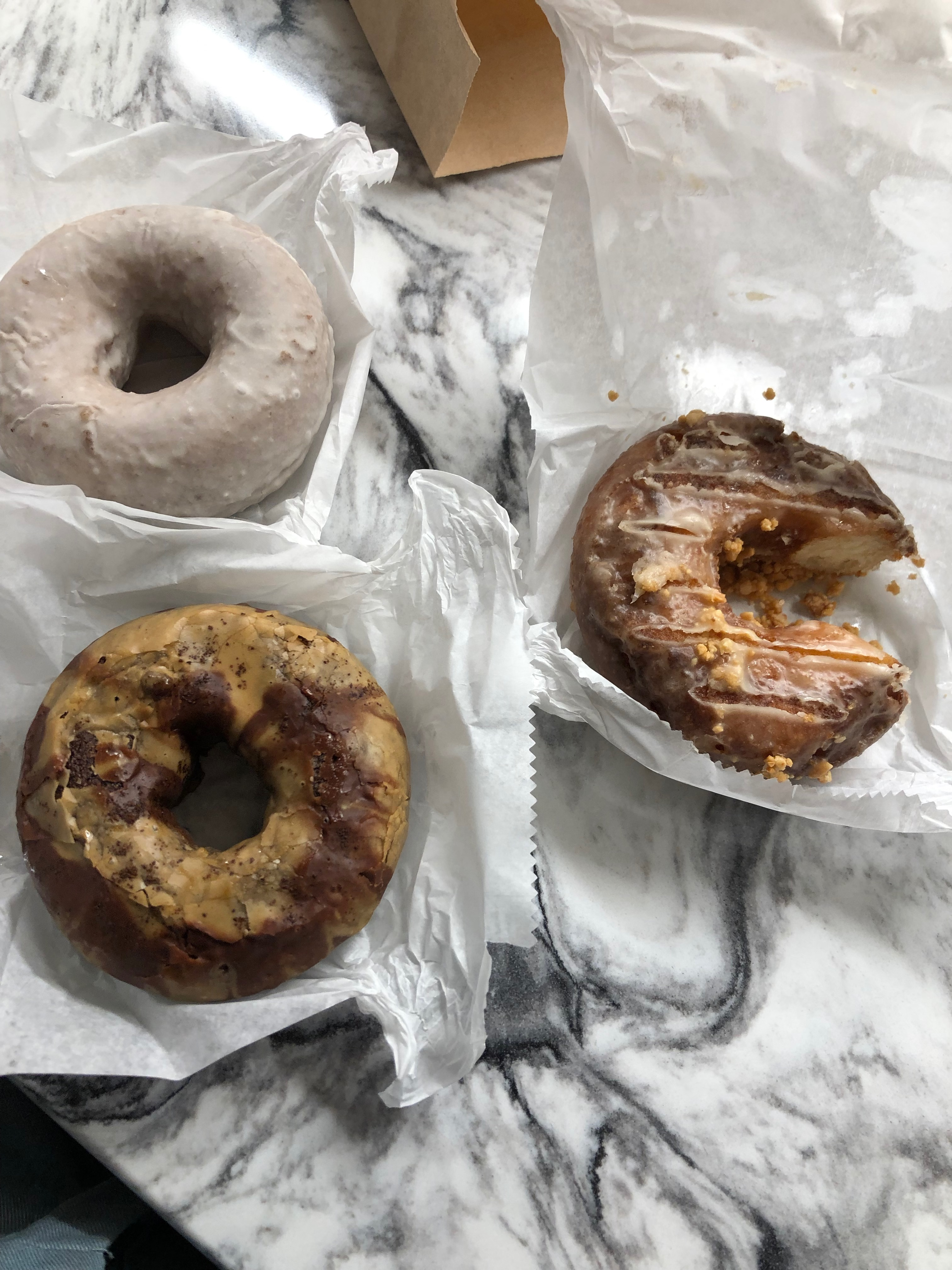 Doughnuts and Food (Doughnut Plant)