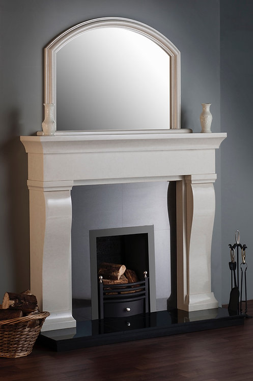 Vanette - Ivory Pearl with standard arch mirror