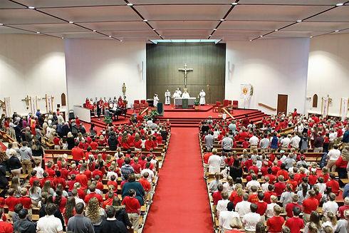 Kuemper Catholic Mass