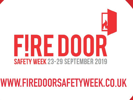 Fire Door Safety Week 2019  – common manufacturing faults all manufacturers should know