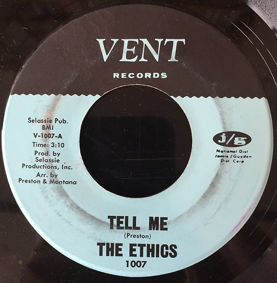 The Ethics – Tell Me / There'll Still Be A Sweet T