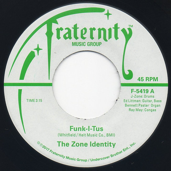 The Zone Identity – Funk-I-Tus / Let The Music Take Your Mind