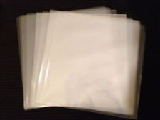 "12"" Outer Poly Sleeves 3ML"