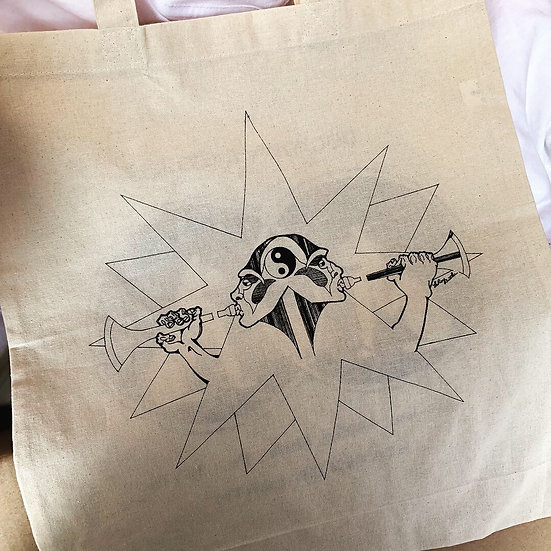 Sounds of Liberation Tote Bag