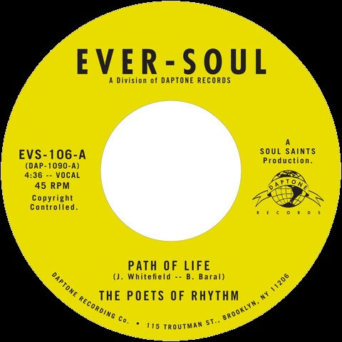 The Poets Of Rhythm ‎– Path Of Life
