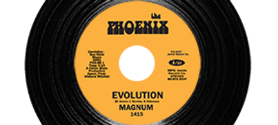 Magnum ‎– Evolution (Beats Edit) / It's The Music That Makes Us Do It (BLACK)