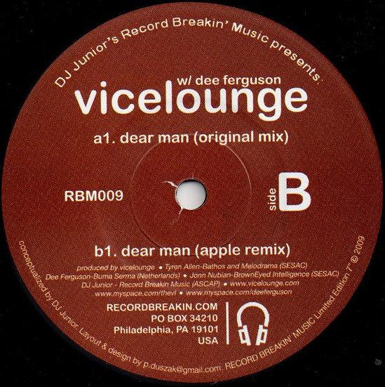 Vicelounge W/ Dee Ferguson – Dear Man