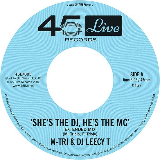 M-Tri & DJ Leecy T – She's The DJ, He's The MC