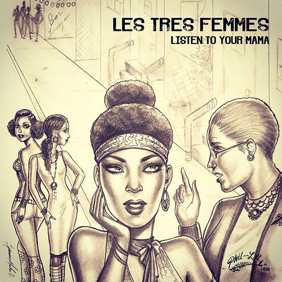 (WS) Les Tres Femmes ‎– Listen To Your Mama (20 Pack)