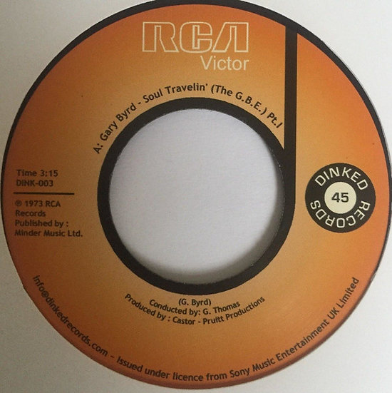 Gary Byrd ‎– Soul Travelin' (The G.B.E.)