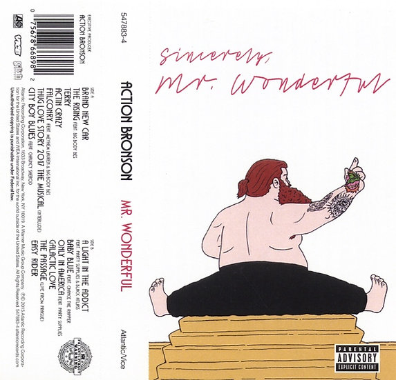 Action Bronson ‎– Mr. Wonderful