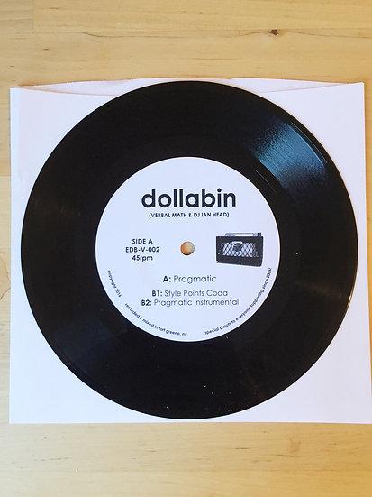 """Pragmatic"" Limited Edition 7-inch Vinyl"