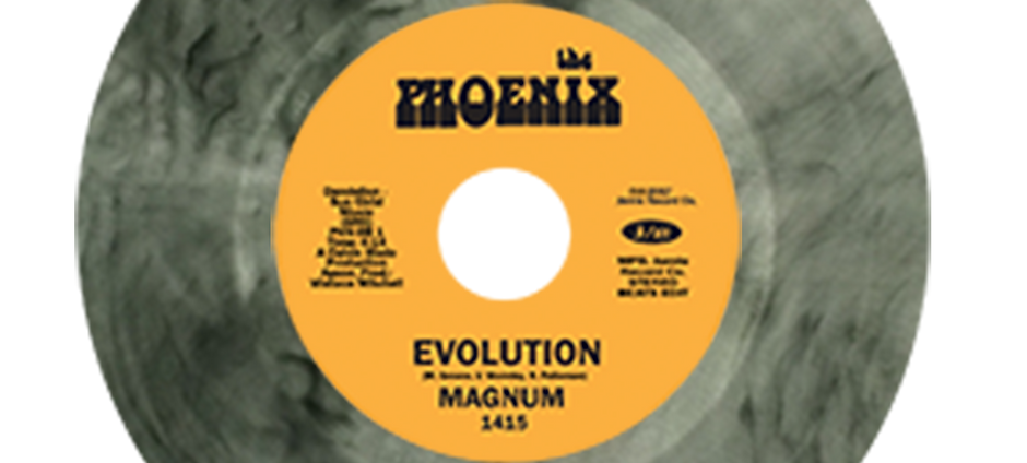 LIMITED TO Magnum ‎– Evolution / It's The Music That Makes Us Do It (COLORED)
