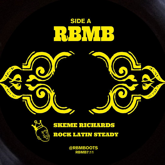 Skeme Richards - Rock Latin Steady