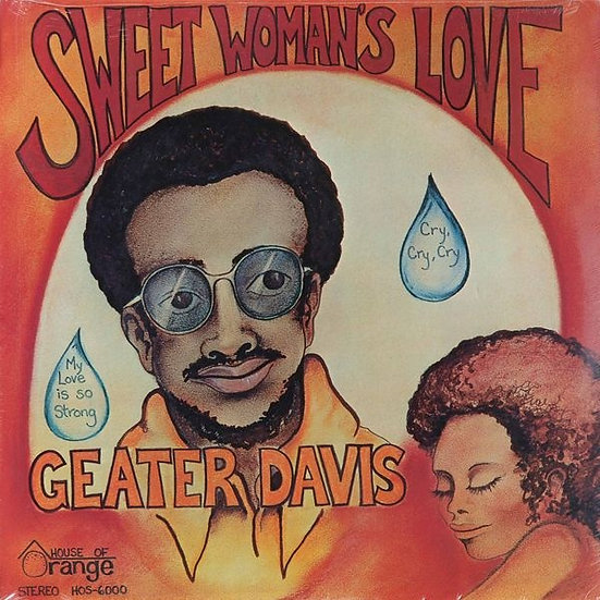 SS - Geater Davis ‎– Sweet Woman's Love
