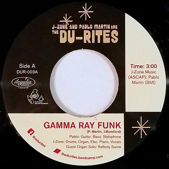 The Du-Rites ‎– Gamma Ray Funk / Fish Sammich