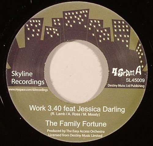 The Family Fortune Feat Jessica Darling ‎– Work