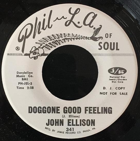 John Ellison – Doggone Good Feeling / All I Want