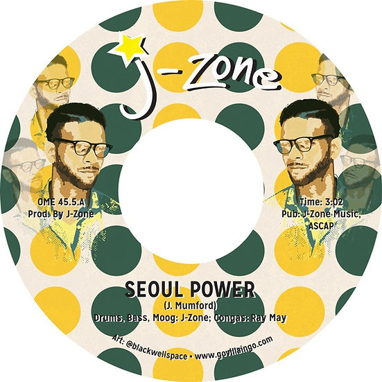 J-Zone ‎– Seoul Power / I'm Sick of Rap